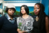 BERT JOHNSON - Amber Senter (L), Nina Parks, and Sunshine Lencho (R) are the co-founders of Supernova Women.