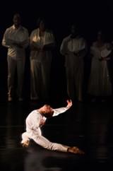 RON LESSARD - Oakland Ballet's Evan Flood.