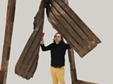 COURTESY OF GUILLERMO GALINDO - For Border Cantos, Guillermo Galindo made a set of unconventional musical instruments.