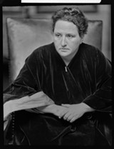 IMAGE VIA FLICKR/CC - Gertrude Stein.