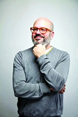 PHOTO BY DANIEL BERGERON - David Cross.