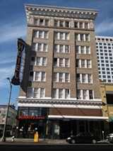 DARWIN BONDGRAHAM - The Sutter Hotel is one of Oakland's few remaining single-room-occupancy hotels.