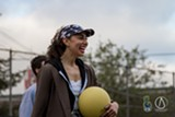 ANDREW ELSAYID - FreeSpirit Dodgeball is a league for big people ... but the kids can watch.