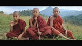 Three of the four novice monks in Golden Kingdom.