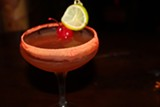A li hing-rimmed cocktail from Kona Club.