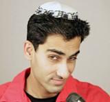 Jewish-Indian comedian Samson Koletkar.