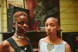 "DEARIO ""CHOSE"" AUSTIN - Queens D.Light (L) and Sasha Kelley (R) envision Twerk 4 Mother Earth as a safe space for self-expression."