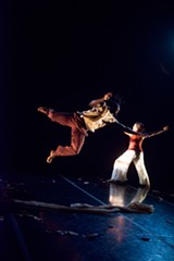 COURTESY ALAN KIMARA DIXON - Chanel Bibene and Chris Evans are among the Black Choreographers Festival performers.