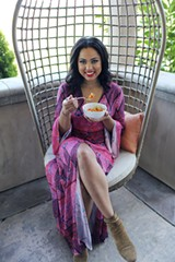 COURTESY CAROLINE EGAN - Ayesha Curry's new cookbook offers more than just recipes.