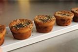 SAM BUTARBUTAR - Crisp-chewy mochi muffins.