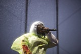 MICHAEL MILLER - Kamaiyah saved the day with an encore when Young Thug's Treasure Island performance was delayed.