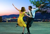 Strike a recycled pose: Emma Stone and Ryan Gosling in La La Land.