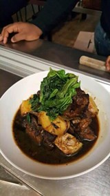 Braised oxtails at Miss Ollie's (via Facebook).
