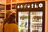 PHOTO BY HERMEXIAL DREXILUS - The beer selection at Umami Mart.
