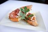 CHRIS DUFFEY - Venezia's bruschetta isn't your run-of-the-mill tomato-and-garlic variety.