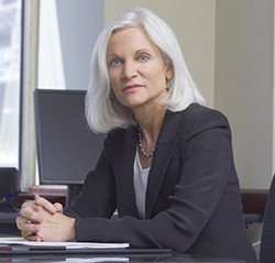 Seemingly in defiance of Congress, The DOJ will continue its four-year-old crackdown on California medical cannabis, a spokesperson said Wednesday. Above, the Bay Area's federal prosecutor Melinda Haag. - DOJ