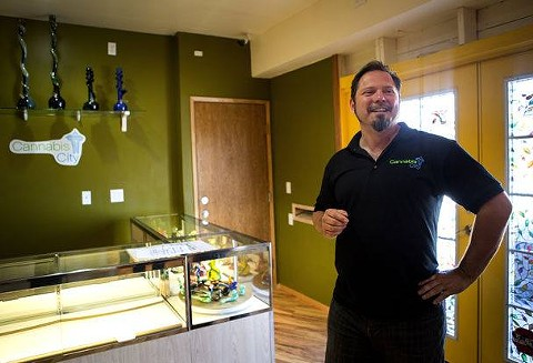 Cannabis City is the lone pot shop open in the city of Seattle -- population 652,000. - VIA FACEBOOK