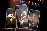 PHOTO ILLUSTRATION BY BRIAN KELLY - With the right app, your iPhone can rock.