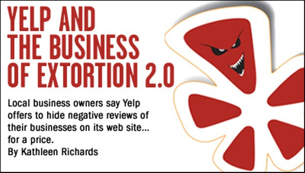 Yelp and the Business of Extortion 2 0   East Bay Express