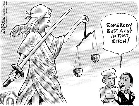 Yusuf Bey IV Meets Lady Justice