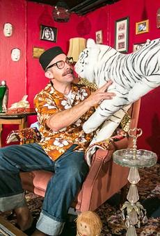 Zamboni falls into East European caricature à la Borat.