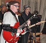 BRITT HALLQUIST - Zinn plays twice monthly at Cafe Randevu.