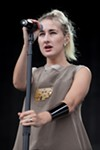 Zola Jesus kicked off Saturday's lineup.