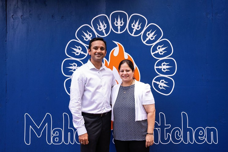 Neelesh and Shubhangi Musale will offer Sugar Land elevated Indian cuisine. - PHOTO BY MICHAEL ANTHONY
