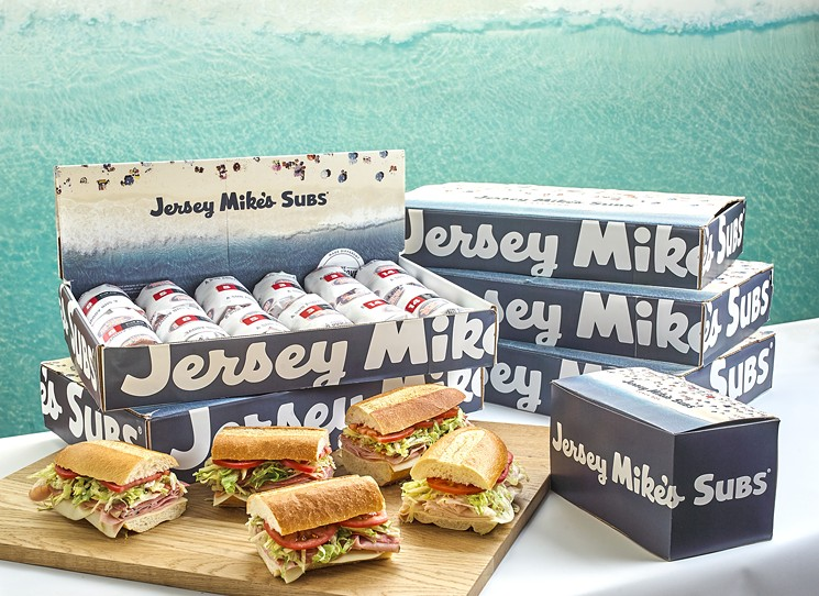 Subs for a crowd is easy at Jersey Mike's. - PHOTO BY JERSEY MIKE'S SUBS