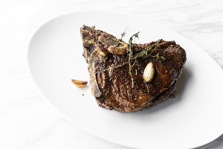 Georgia James will bring its cast iron-seared steaks to Regent Square. - PHOTO BY JULIE SOEFER