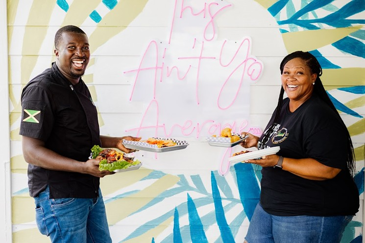 Chef Gareth Powell and wife Danielle are bringing island flavors to Acres Home. - PHOTO BY JEREMIAH JONES