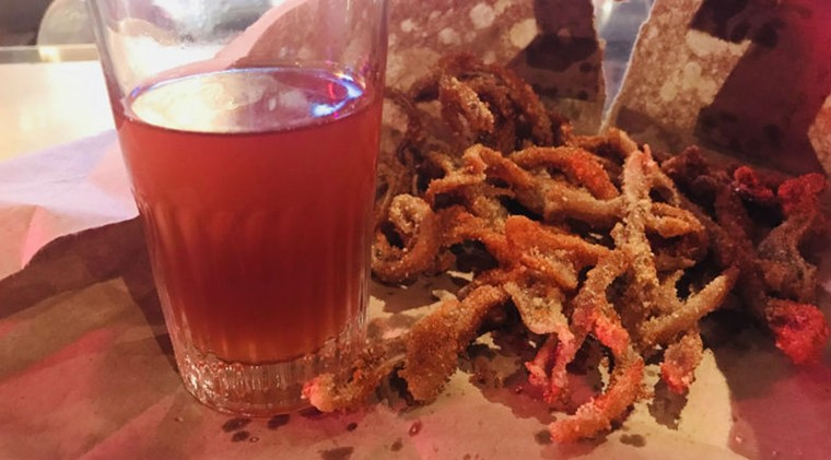 Chef  and former press writer, Kate McLean, loved the Crispy Pig Ears. - PHOTO BY KATE MCLEAN