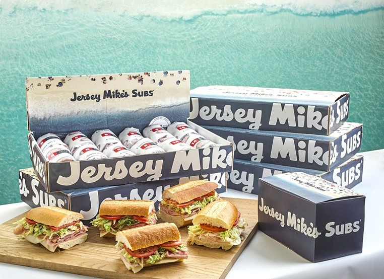 Let Jersey Mike's supply the subs for the Big Game. - PHOTO BY JERSEY MIKE'S SUBS