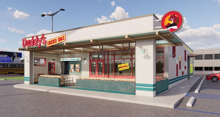Daddy's has chosen Houston for its flagship location. - RENDERING BY HARRISON