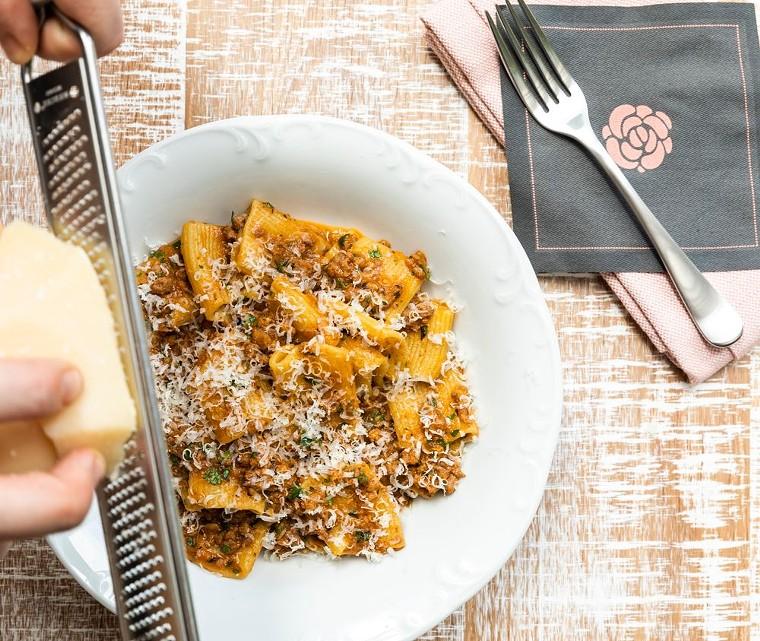 Rosalie's fresh pasta gets a heaping of wild boar ragu. - PHOTO BY ROSALIE ITALIAN SOUL