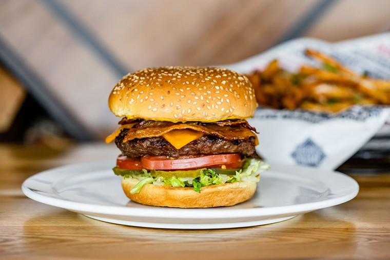 The Heights is losing some of the country's best burgers. - PHOTO BY KIRSTEN GILLIAM PHOTOGRAPHY