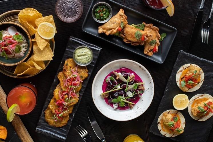 Pan-Latin flavors lead the menu at Toro Toro. - PHOTO BY RICHARD SANDOVAL HOSPITALITY