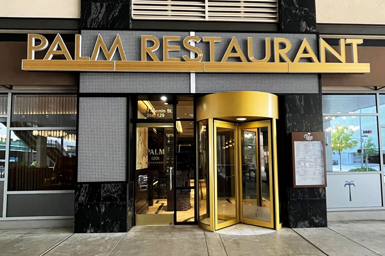 A retro restaurant gets a contemporary update. - PHOTO BY PALM RESTAURANTS
