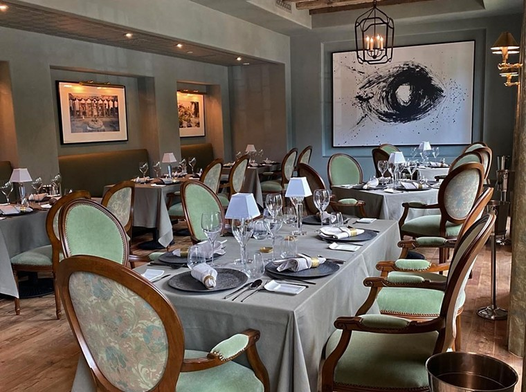 The interior of Alba welcomes guests for an evening of elegance. - PHOTO BY LOCAL CREATIVE SOLUTIONS