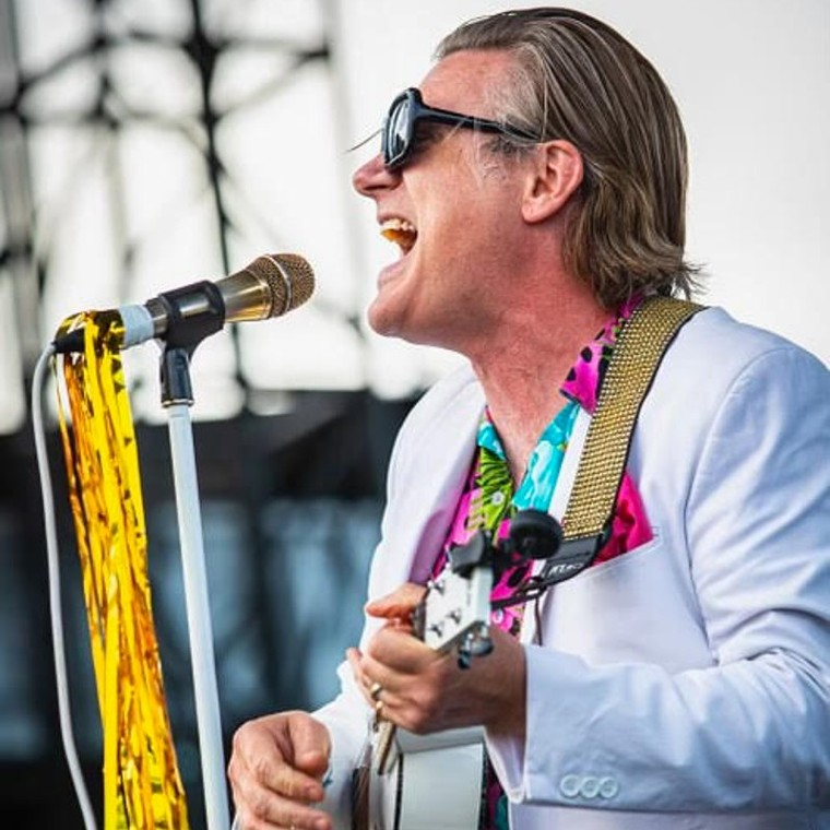 Slawson leads the touring Gimmes on the road this fall. - PHOTO BY WES ORSHOSKI, COURTESY OF FAT WRECK CHORDS