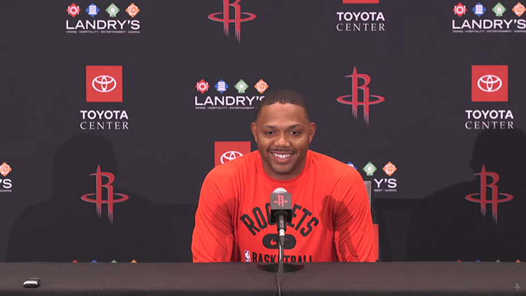 Eric Gordon remains one of the steady veterans, but for how long? - SCREENSHOT