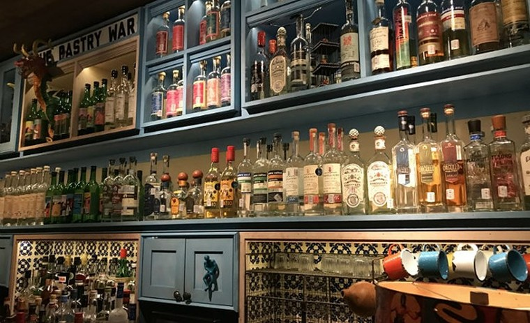 The Pastry War offered a plethora of agave-based spirits. - PHOTO BY KATE MCLEAN