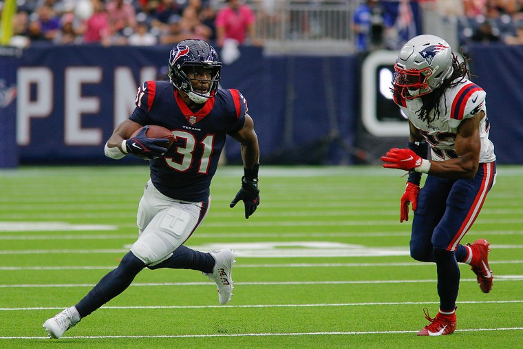 David Johnson and the Texans running backs are still having trouble finding success. - PHOTO BY ERIC SAUSEDA