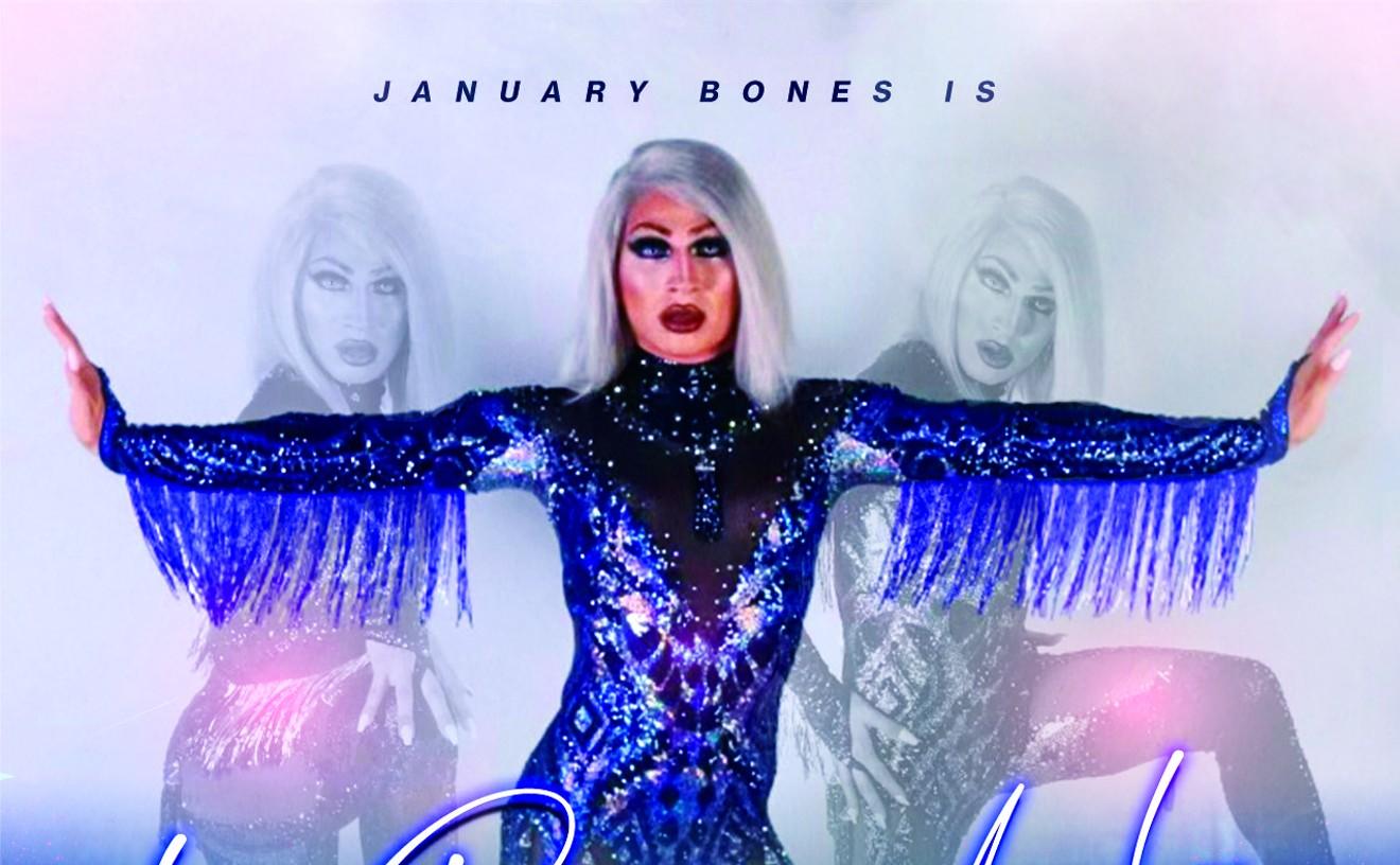 January Bones is La Reina De La Noche
