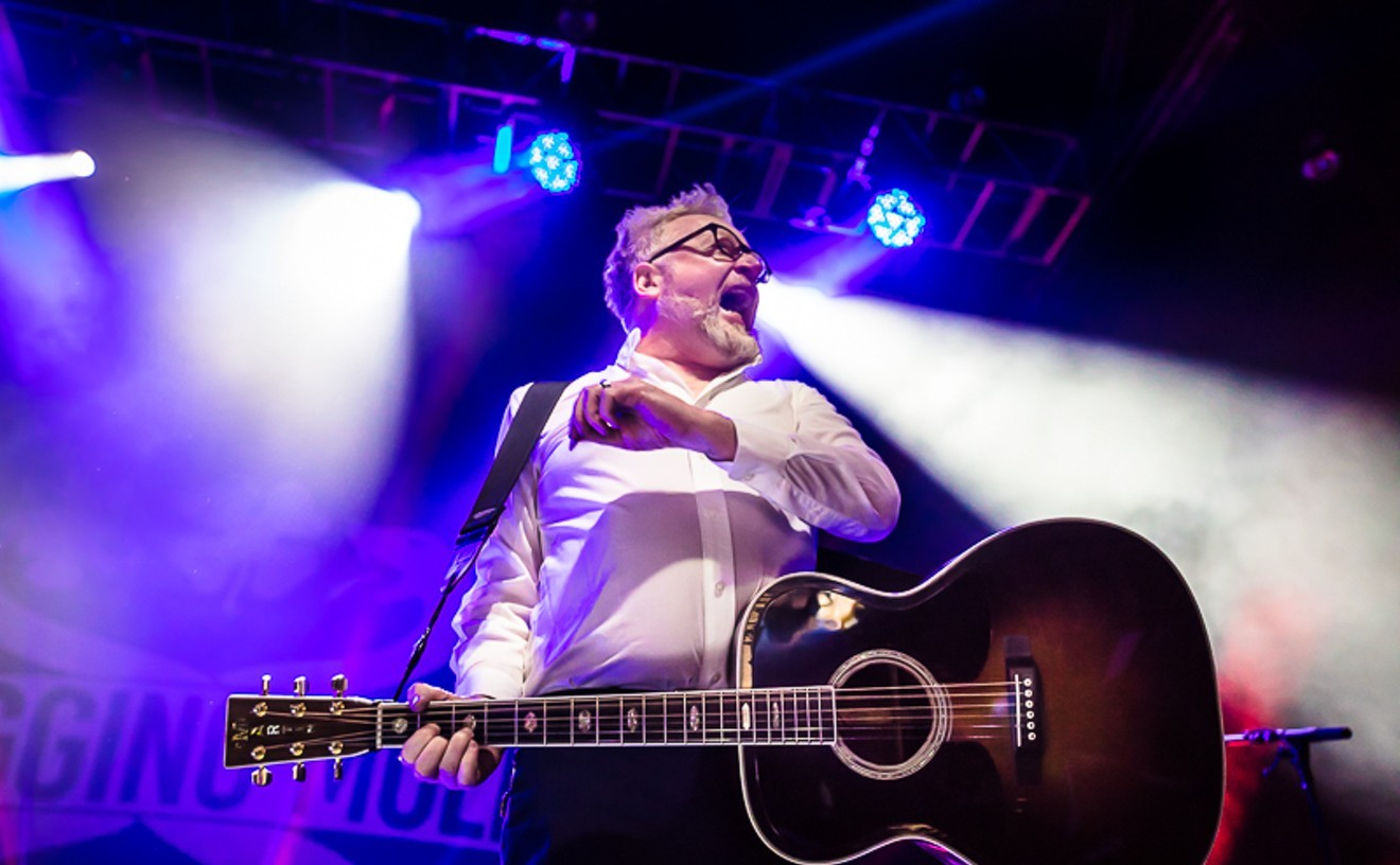 Flogging Molly's Dave King in 2019