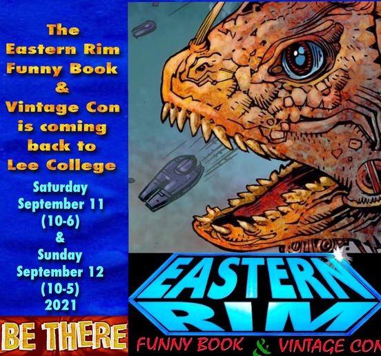 Eastern Rim Funny Book & Vintage Con