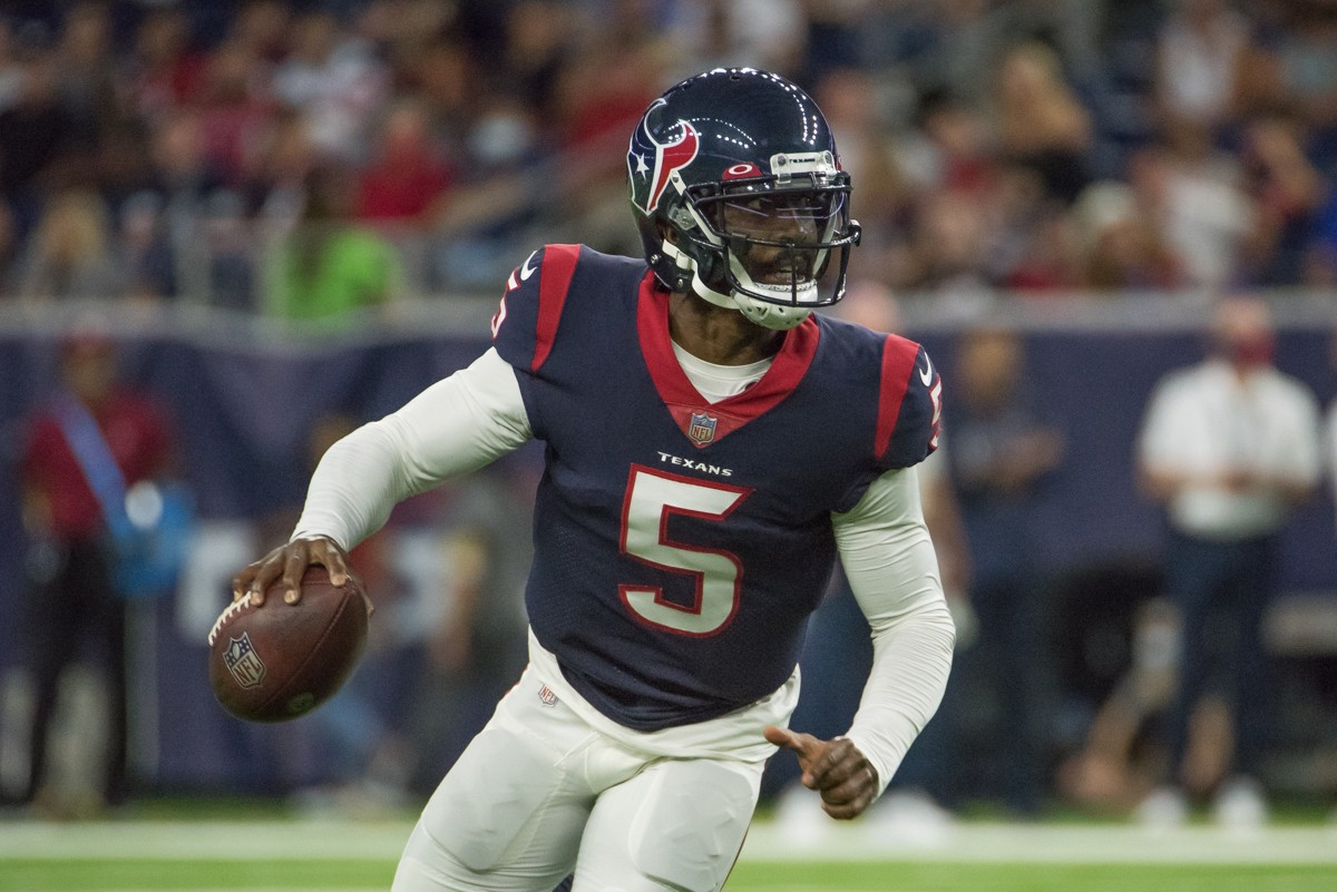 If the Texans are going to exceed expectations in 2021, they will need Tyrod Taylor healthy for 17 games.