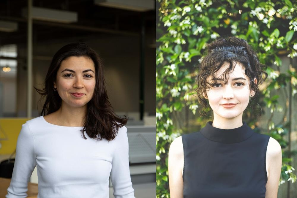 Liz Gálvez and Estefanía Barajas
