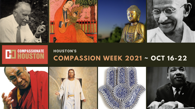 """COMPASSION WEEK 2021 WISDOM TEACHERS AND FAITH LEADERS ON COMPASSION   """"We Could Use All The World's Wisdom Now""""…"""