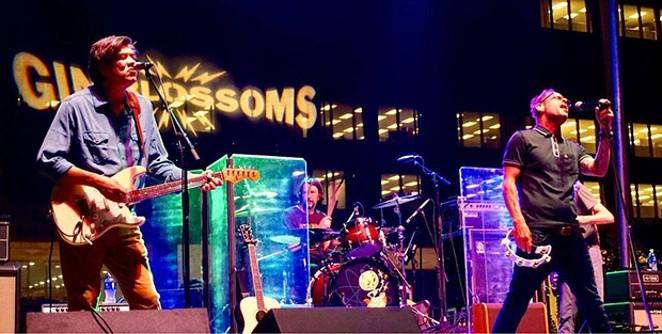 Gin Blossoms at BOS. - PHOTO BY BRIAN BOWLES